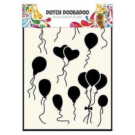 Pochoir Mask Art Ballons Ronds et Coeurs