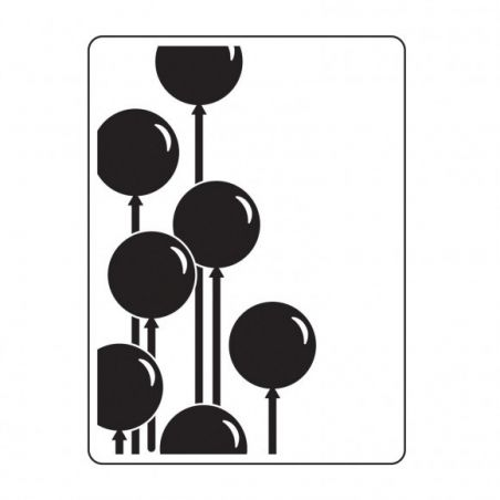 Plaque Embossage Ballons