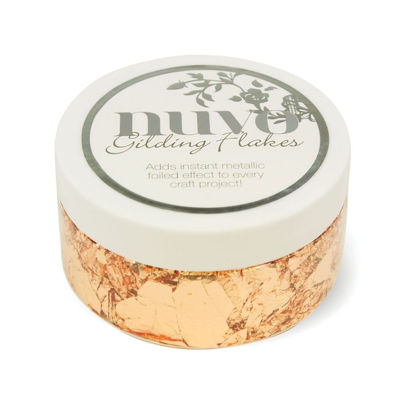 Gilding Flakes Nuvo Sunkissed Copper
