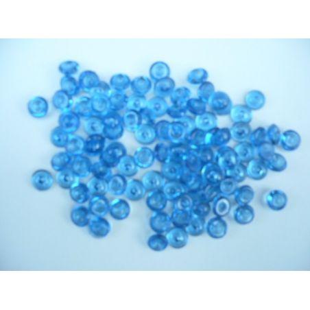 Gouttes d'eau Acryliques Couleur Bleu Foncé (100 Pcs)*