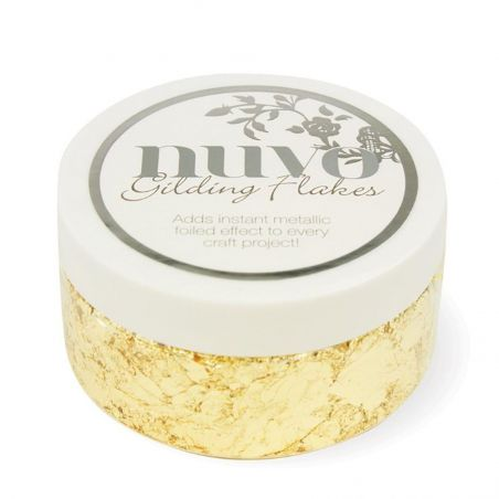 Gilding Flakes Nuvo Radiant Gold