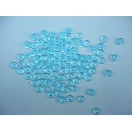 Gouttes d'eau Acryliques Couleur Turquoise (100 Pcs)*