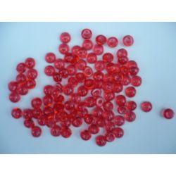 Gouttes d'eau Acryliques Couleur Rouge (100 Pcs)*