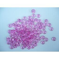 Gouttes d'eau Acryliques Couleur Rose (100 Pcs)*