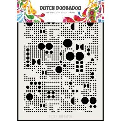 Pochoir Mask Art Mylar Dots
