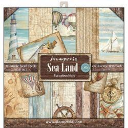 Kit Papiers Stamperia Sea Land
