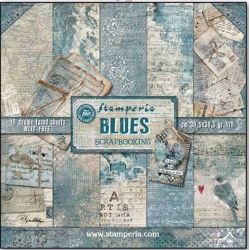 Kit Papiers Stamperia Blues