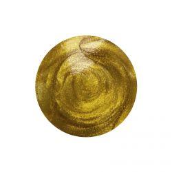 Crystal Drops Metallic Mustard Gold