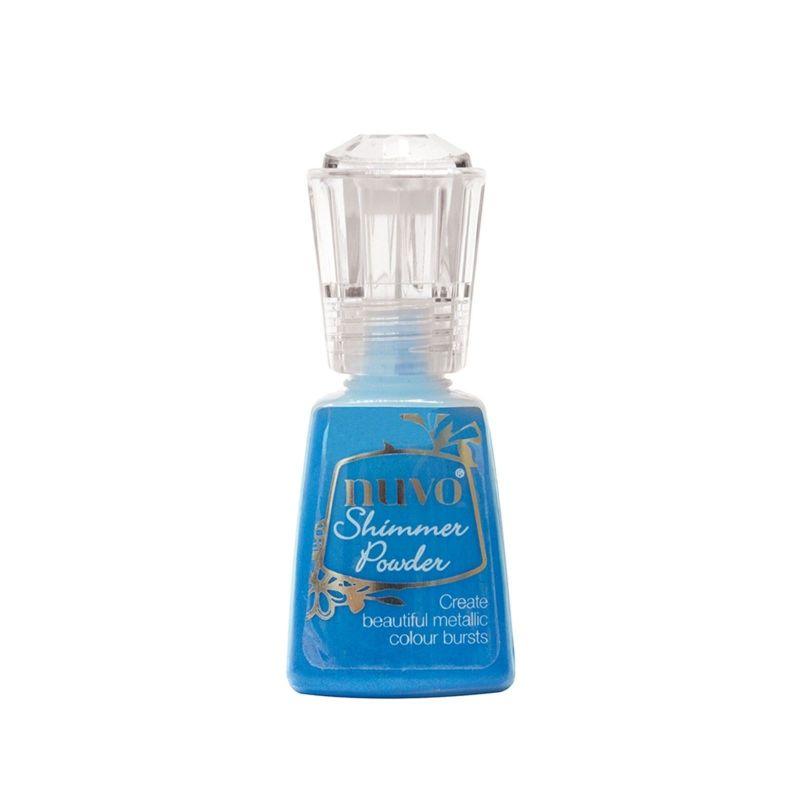 Nuvo Shimmer Powder Blue Blitz