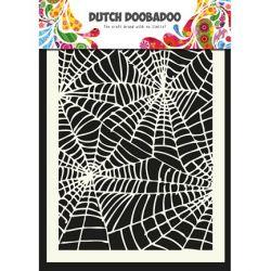 Pochoir Mask Art Toile d'araignée