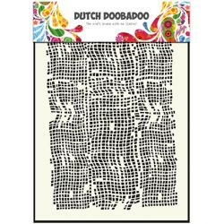 Pochoir Mask Art Toile de Jute