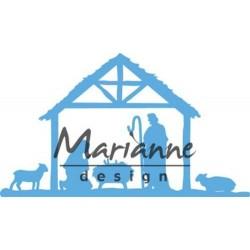 Die cut Creatables Marianne...