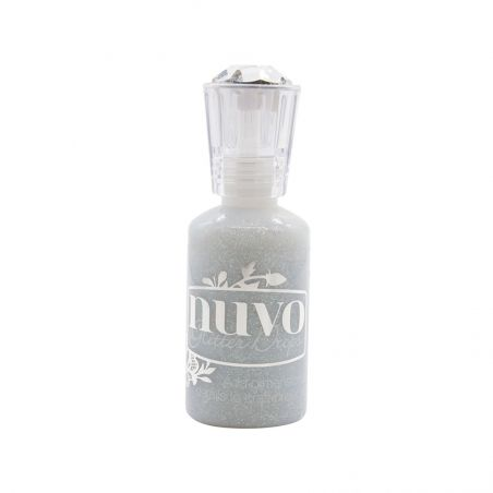 Glitter Drops Nuvo Silver Crystals