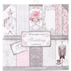 Kit Papiers Stamperia Wedding