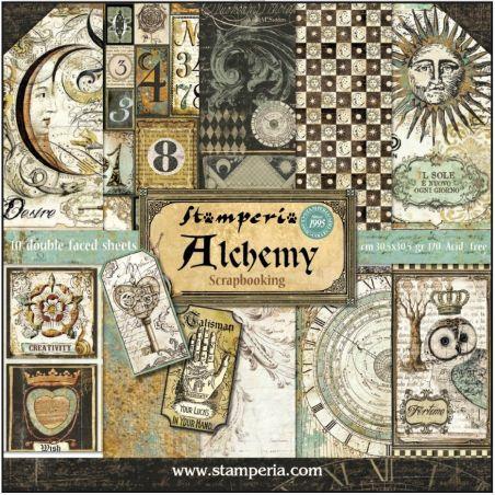 Kit Papiers Stamperia Alchemy