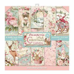 Kit Papiers Stamperia Pink...