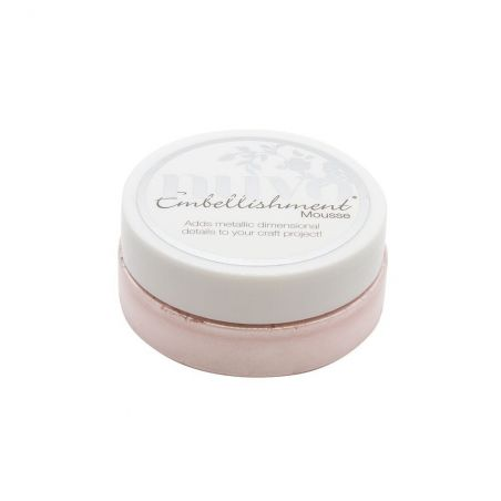 Nuvo Embellishment Mousse Poppy Pink