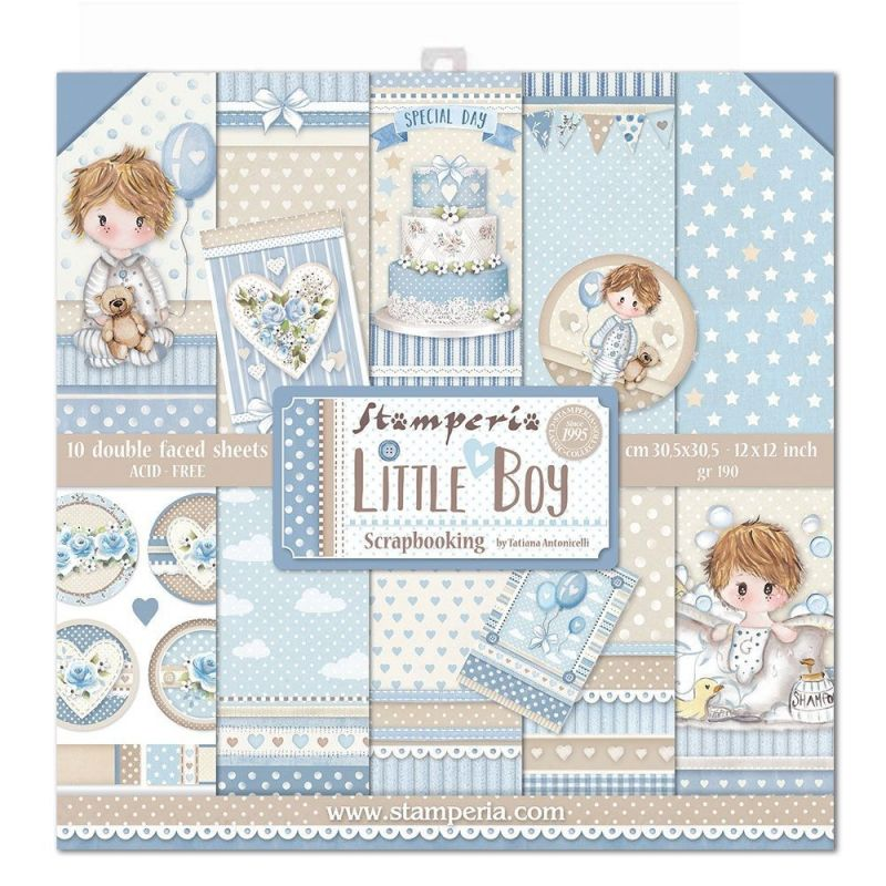 Kit Papiers Stamperia Little Boy