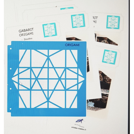 Le Gabarit Origami + Fiches Techniques
