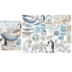 Die Cuts Stamperia Arctic Antarctic