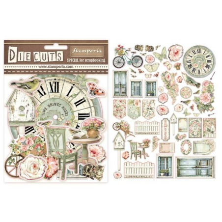 Die Cuts Stamperia House of Roses