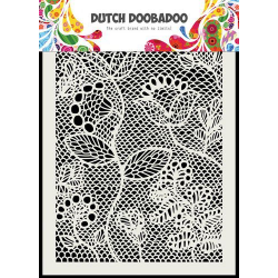 Pochoir Mask Art Zentangle