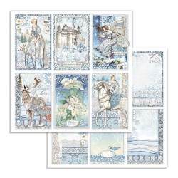 Kit Papiers Stamperia Winter Tales
