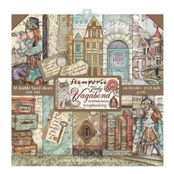 Kit Papiers Stamperia Lady Vagabond