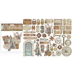 Die Cuts Stamperia Lady Vagabond