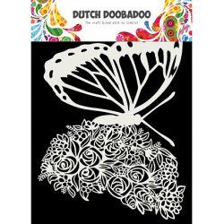 Dutch Doobadoo Pochoir Mask Art Butterfly