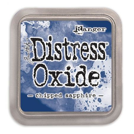 Distress Oxide ink pad Chipped Sapphire