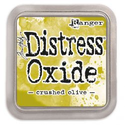 Distress Oxide ink pad Crushed Olive