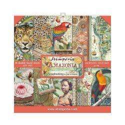 Kit Papiers Stamperia Amazonia