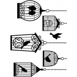 Plaque Embossage Cages...