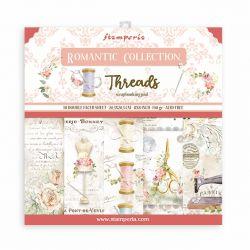 Petit Kit Papiers Stamperia Romantic Threads