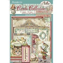 Cards Stamperia Alice...