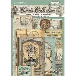 Cards Stamperia Voyages...