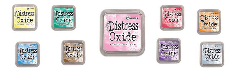 Nouveautés Distress Oxide